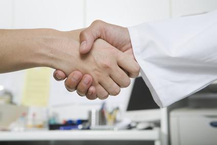 Zusammenarbeit mit Ärzten